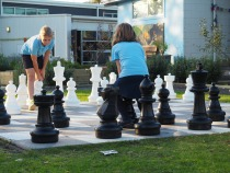 outdoor chess