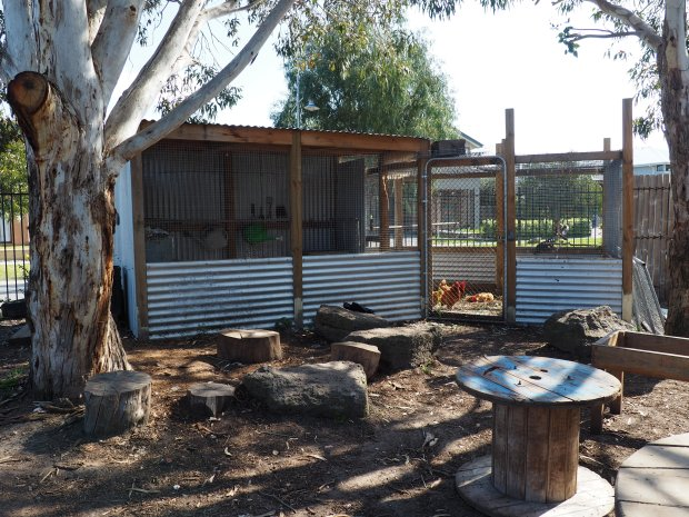 CHICKEN COOP AT BONBEACH  PRIMARY SCHOOL