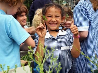 GROWING GREEN THUMBS