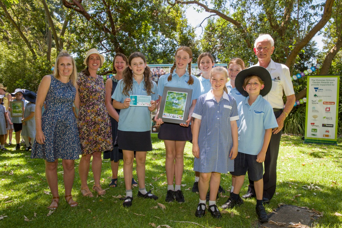VSGA - Victorian Schools Garden Awards Bonbeach Primary School 2017