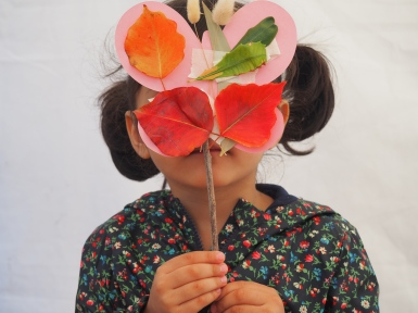 autumn nature crafts - Growing Green Thumbs